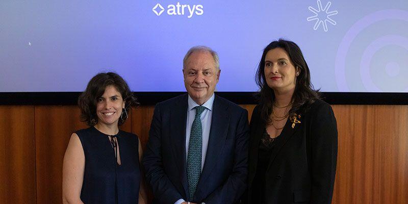Sofia Gomes, Country Manager da Atrys Portugal, Santiago de Torres, Presidente Ejecutivo de Atrys y Graça Pires, General Manager da Genetyca ICM