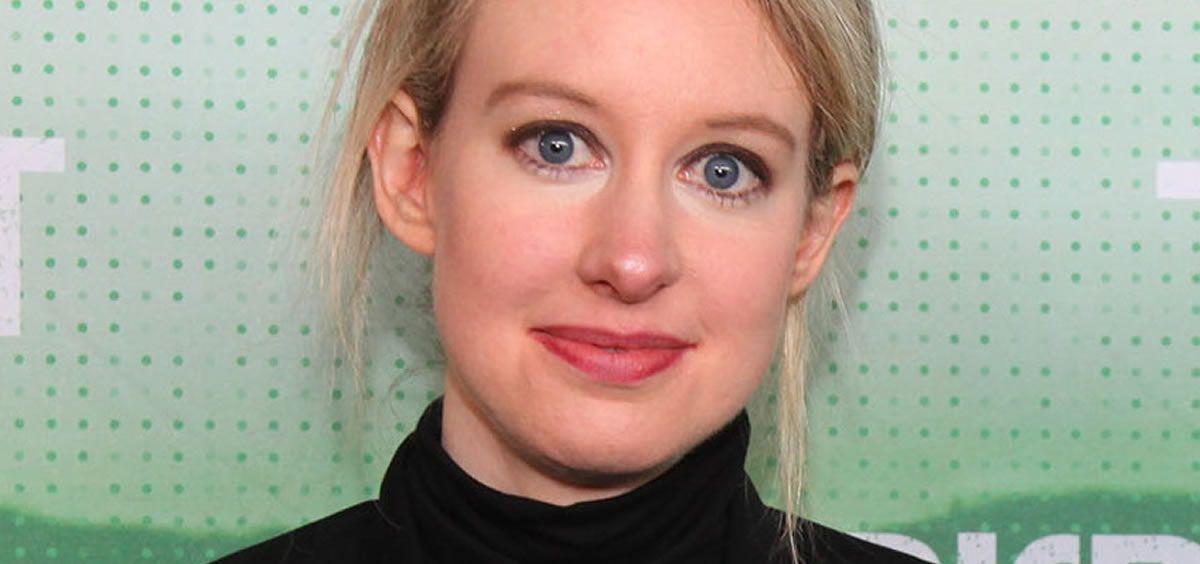 La fundadora de Theranos, Elizabeth Holmes