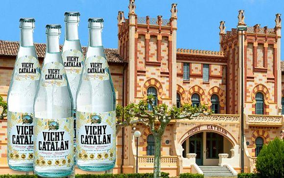 Los estudios contradicen las propiedades del agua carbónica de Vichy Catalán