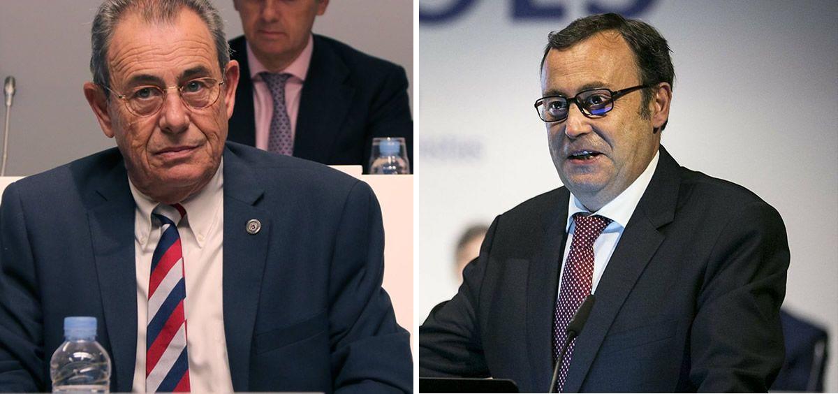 Víctor Grifols Roura y Raimón Grifols Roura, presidente y consejero de Grifols.