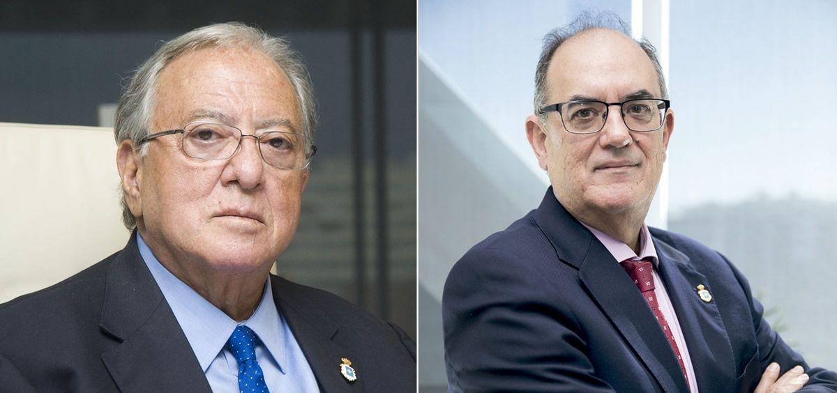 Diego Murillo, presidente de la Fundación A.M.A.; y Luis Campos, presidente de A.M.A. (Foto. A.M.A.)