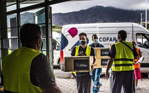 La Fundación Cofares dona 1.500 mascarillas FFP2 a Cáritas