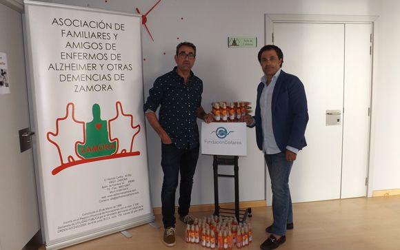 De izd. a drcha.: Antonio García y Aquilino Rodríguez.