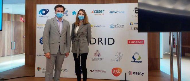 El Chief Information Officer (CIO) de FutuRS, Pablo González Moro, y la Digital Transformation Officer del grupo sanitario Ribera, Tania Menéndez