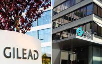 Sedes de Gilead y MSD