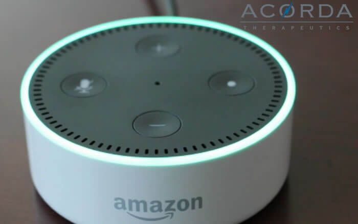 Acorda Therapeutics lanza Amazon Alexa Skill