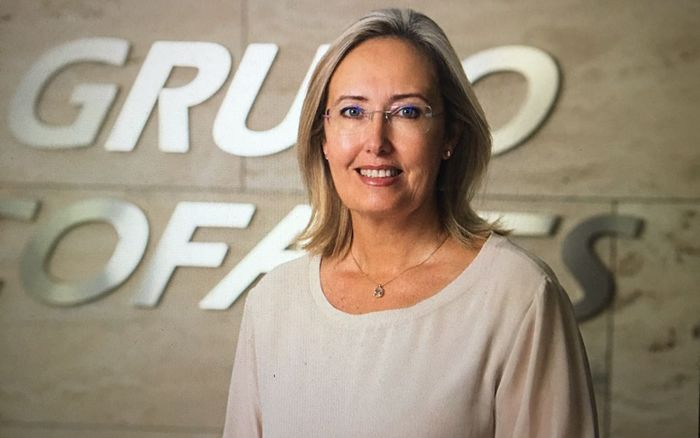 Alicia Wildpret, vicesecretaria de Cofares y vicepresidenta de GIRP.