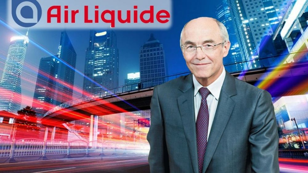 Benoît Potier, presidente y CEO de Air Liquide.