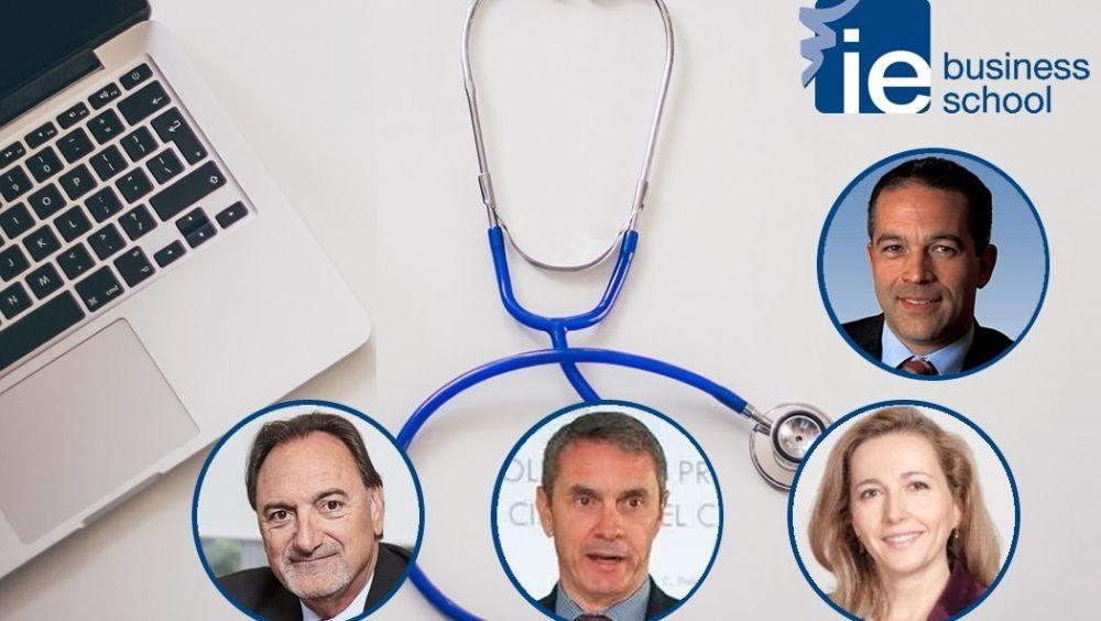 De izd. a drcha.: Javier Ellena, Máximo Gómez, María Vila y Luis Truchado.