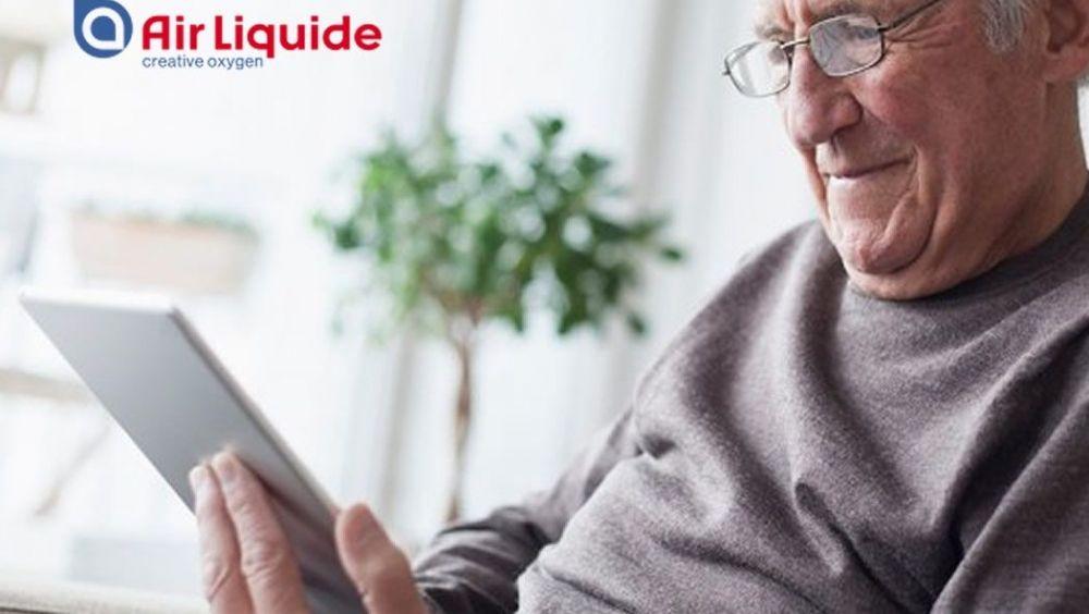 Air Liquide lanza su primera solución e-salud de atención sanitaria en el hogar
