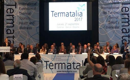 Termatalia convierte a Ourense en la capital internacional del negocio termal