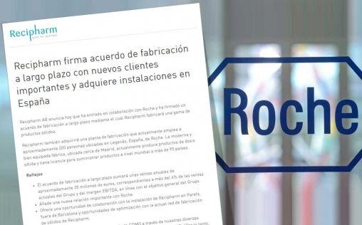 ¿Qué ocurre con la planta de Roche en Leganés?