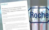 Comunicado Recipharm y Roche