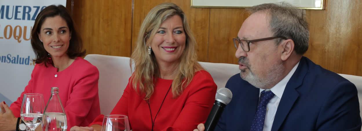 Concha Caudevilla, Patricia Gómez y Juan Blanco