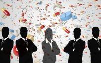 Mujeres en el sector farmacéutico mundial