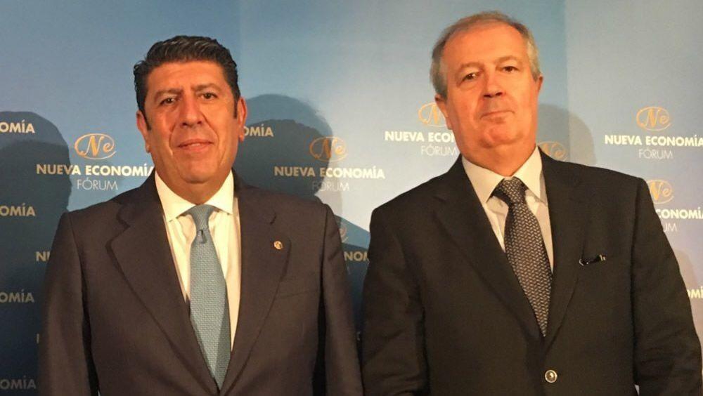 Manuel Vilches, director general de IDIS; y Luis Mayero, presidente de IDIS.