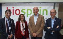 De izquierda a derecha Carlos Buesa, Carmen Eibe, Jordi Martí y Daniel Ramón.