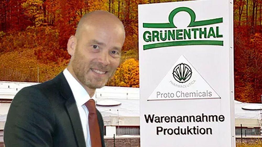 Christoph Stolle, director general de Grünenthal Pharma España.