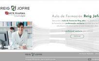 Nueva plataforma de Reig Jofre para la formación de profesionales sanitarios.