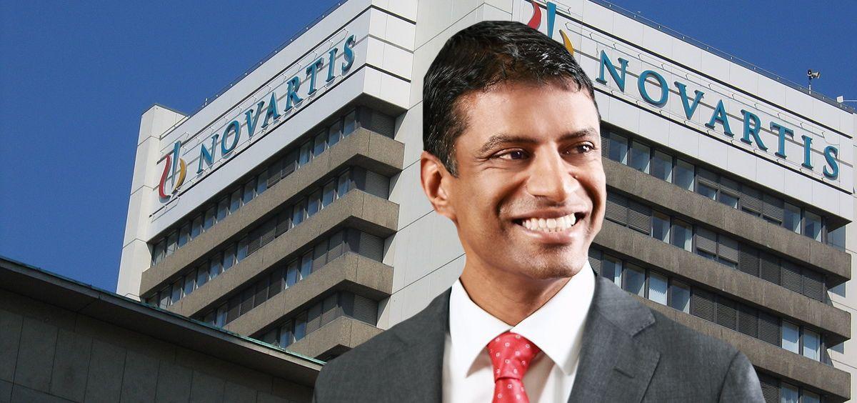 Vas Narasimhan, CEO de Novartis