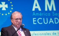 """Diego Murillo, presidente de """"A.M.A."""" Seguros."""