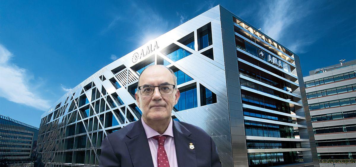 Luis Campos, presidente de A.M.A.