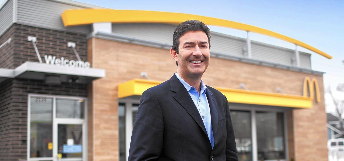 Steve Easterbrook, CEO de McDonald's