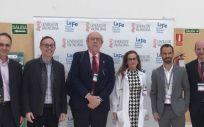 Luis Cea, Jose Maria de Pedro, Julián Alvarez, Pilar Argente, Oscar Diaz y Carlos Errando