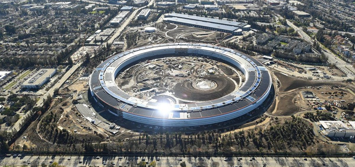 Nueva sede de Apple en Cupertino, California.