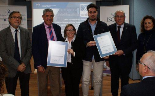 Dos centros de diálisis Fresenius reciben el sello de la Agencia de Calidad Sanitaria de Andalucía