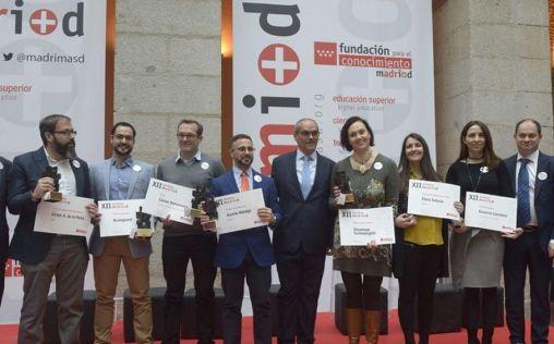 La Fundación madri+d entrega sus premios a los proyectos más innovadores