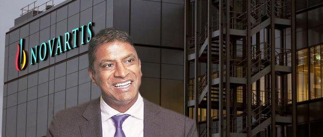 Vas Narasimhan, CEO de Novartis.