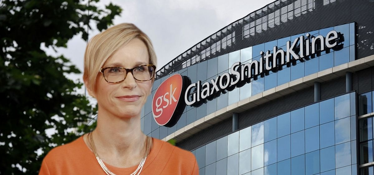 Emma Walmsley, CEO de GlaxoSmithKline (GSK).