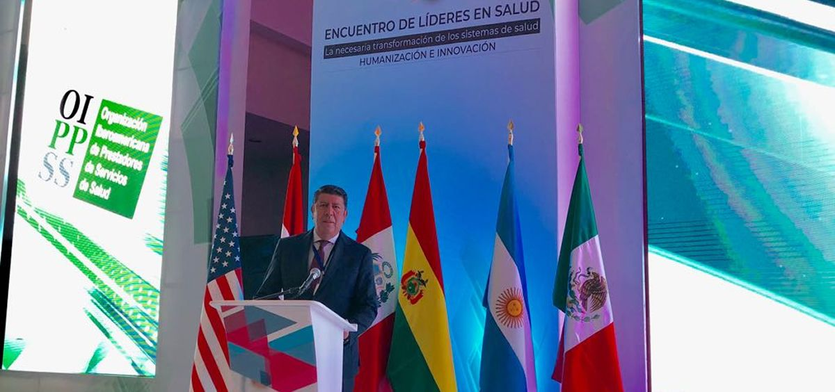 Manuel Vilches, director general de la Fundación IDIS.