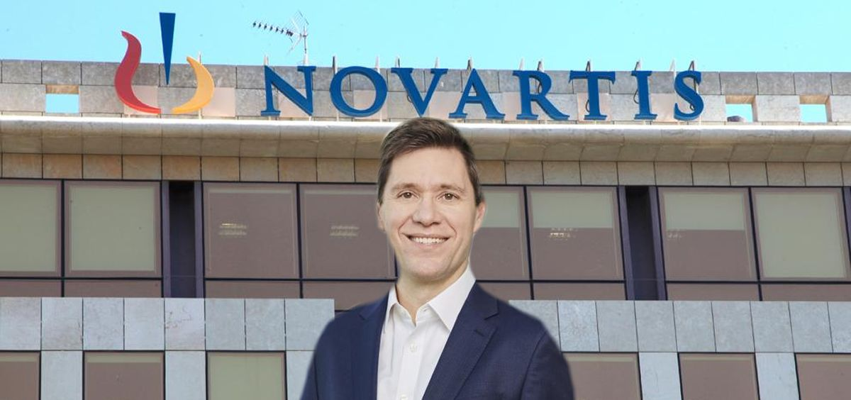 Bertrand Bodson, director digital de Novartis.