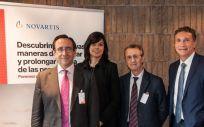 La FER y Novartis firman un convenio para fomentar el desarrollo de actuaciones conjuntas