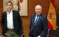 Manuel Cascos y Florentino Pérez Raya, máximos representantes de la Enfermería española