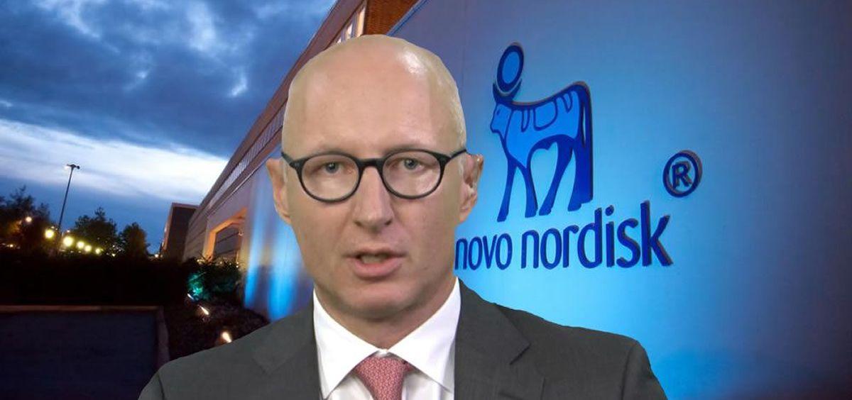 Lars Fruergaard, CEO de Novo Nordisk