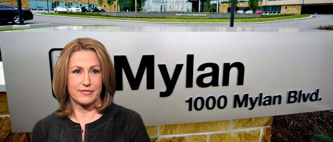 Heather Bresch, CEO de Mylan.