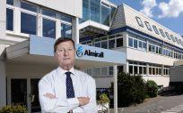 Jorge Gallardo, presidente de Almirall, compañía que produce 'Galusan'.