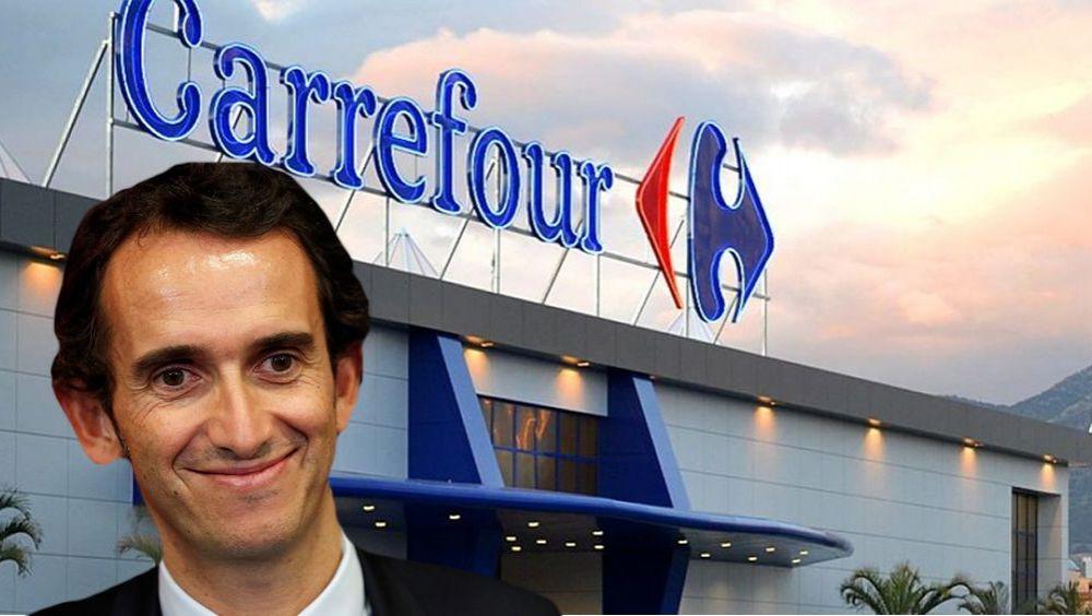 Alexandre Bompard, CEO de Carrefour.