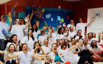 Voluntarios de Air Liquide Healthcare se vuelcan con los pacientes más pequeños