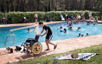 VitalAire organiza un campamento de verano para niños con enfermedades neuromusculares.