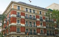 Sede de PSN en la calle Génova, en Madrid.
