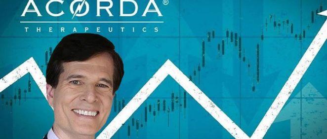 Ron Cohen, CEO de Acorda Therapeutics.