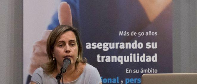 Cristina Sánchez, letrada del departamento de RCP de A.M.A.