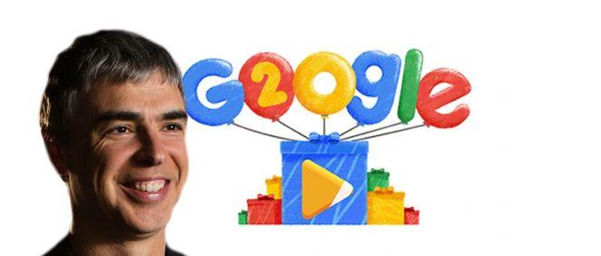 Larry Page, fundador de Google