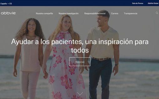 AbbVie estrena nueva web corporativa
