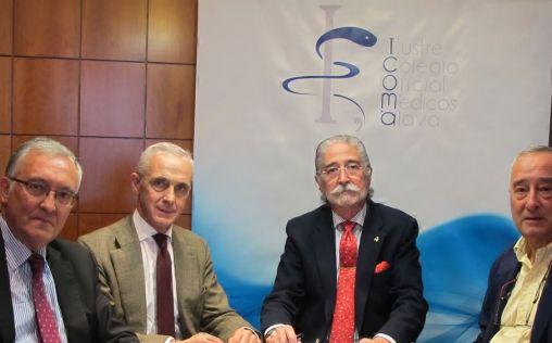 Quirónsalud y médicos de Álava firman un convenio para la asistencia gratuita de médicos jubilados