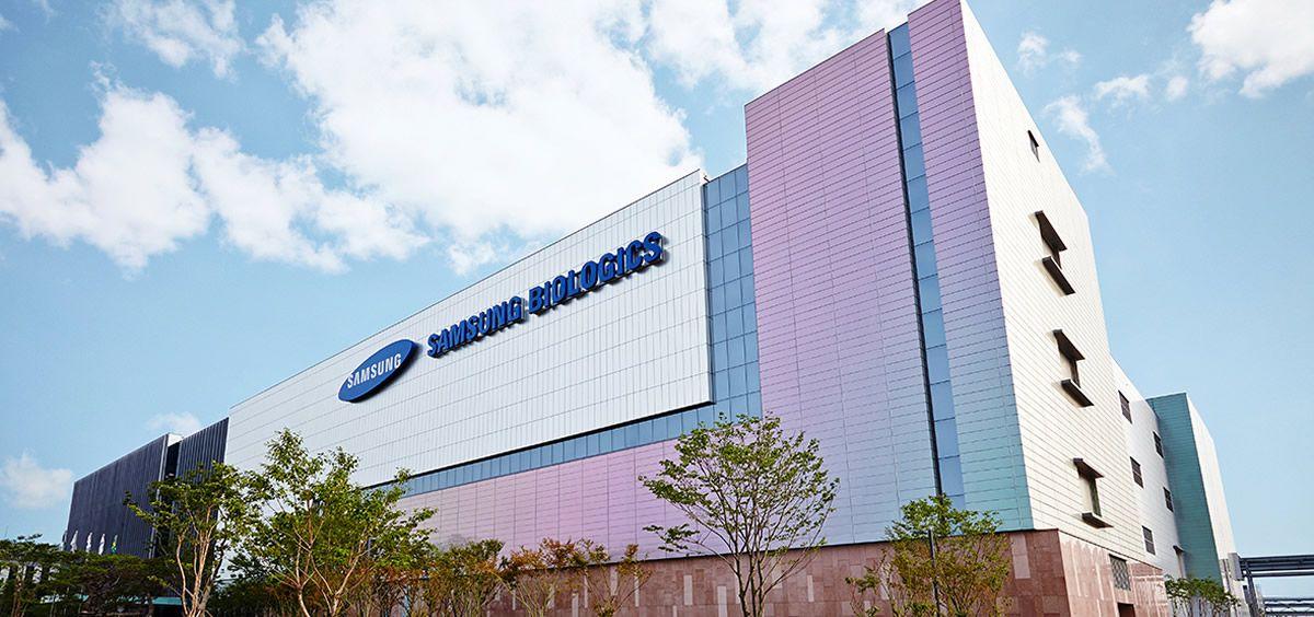 Sede de la biofarmacéutica Samsung Biologics.